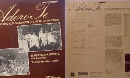Audio: LP Adoro Te 1977