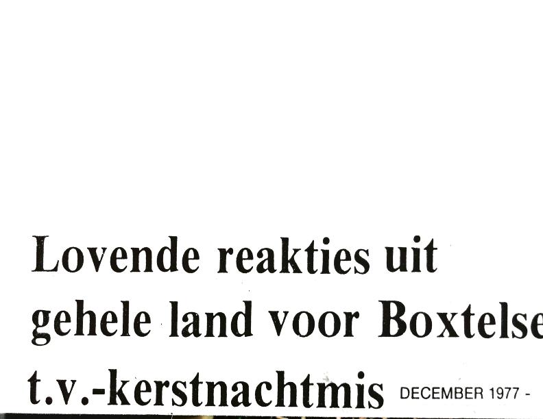 1977 Kerstnachtmis