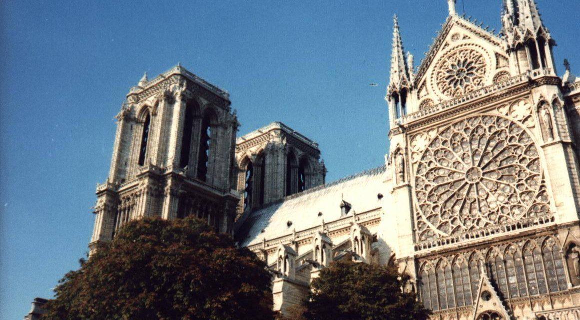 Foto: Koorreis naar Parijs 1990