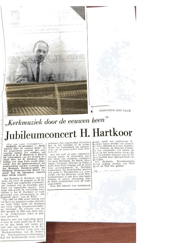1968 Krantenknipsels Jubileum