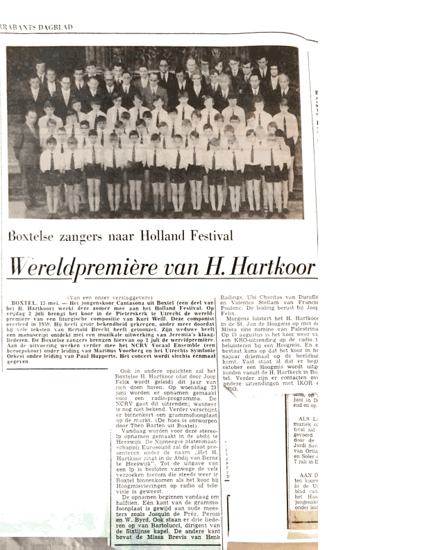 1971 Recordare- Brabants Dagblad