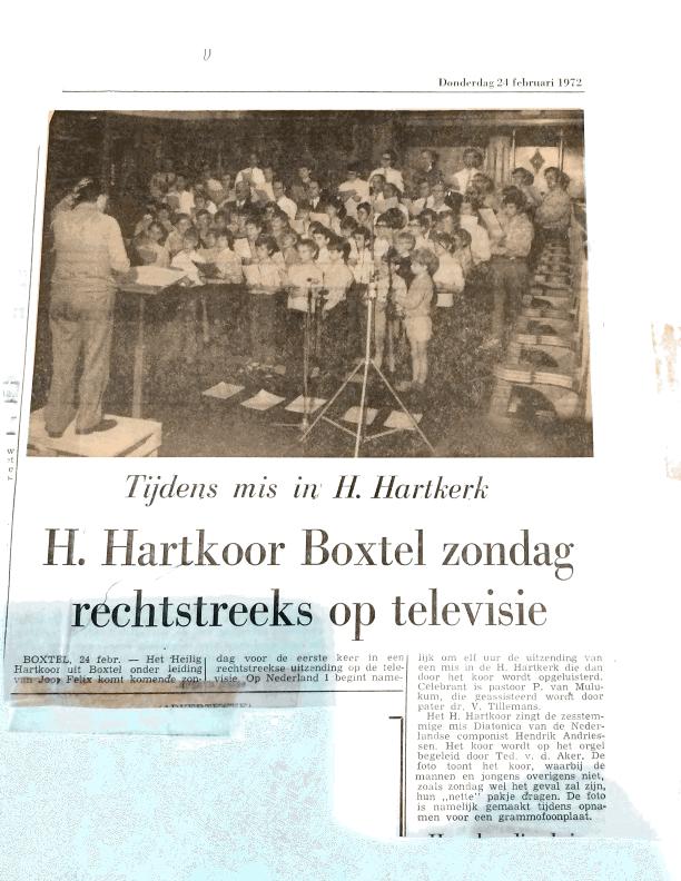 1972 TV uitzending