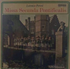 Missa Secunda Pontificalis Perosi Heilig Hartkoor 1974
