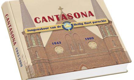 Aankondiging boek over Jongenskoor Cantasona