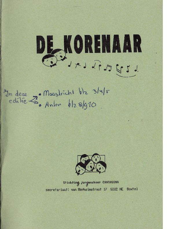 1990 De Korenaar, jg 1, nr.6 1990