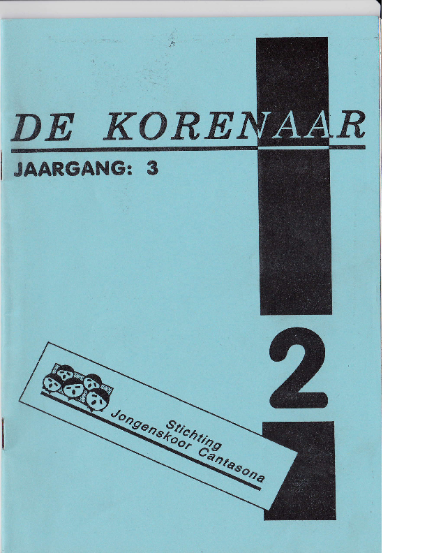 1992 De Korenaar, jg.3, nr.2 1992