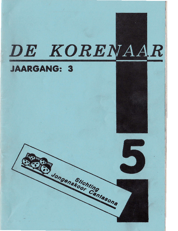 1993 De Korenaar, jg.3, nr.5 1993