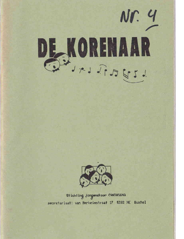 1990 De Korenaar, jg 1, nr.4 1990