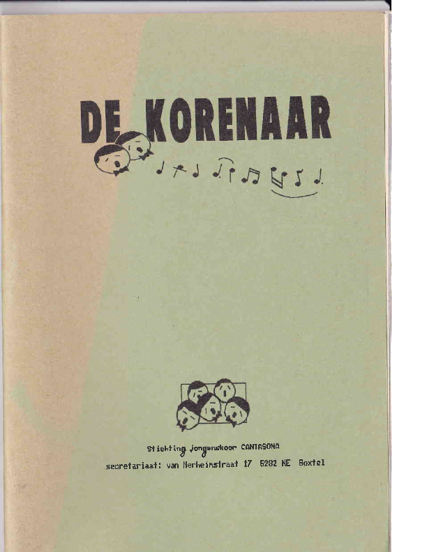 1990 De Korenaar, jg.1, nr.5 1990