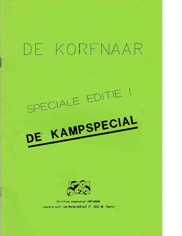 1990 De Korenaar – De Kampspecial 1990