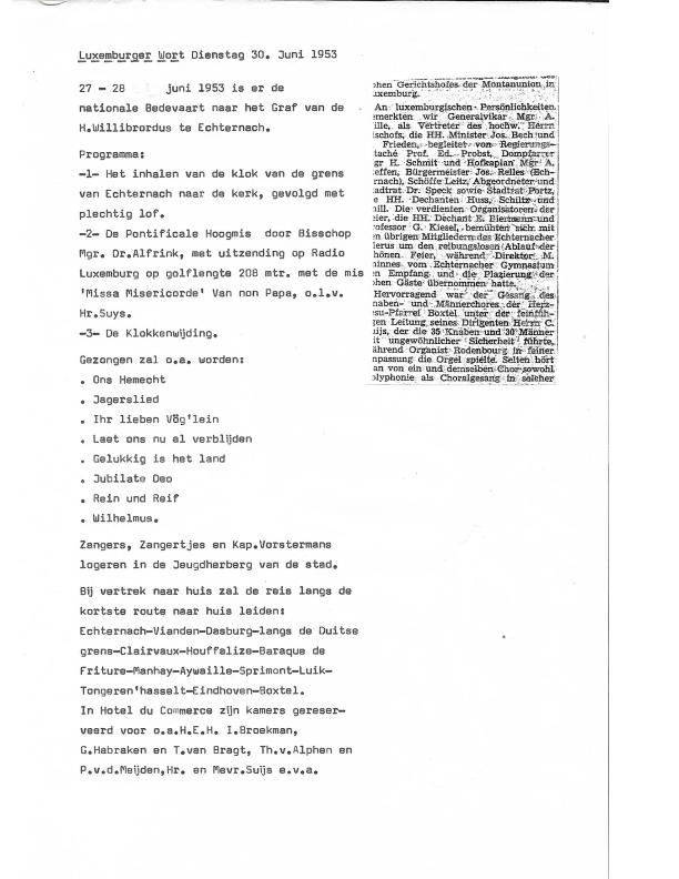 1953 echternach