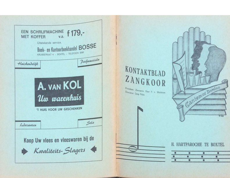 1967 Kontaktblad Zangkoor jg 5-2