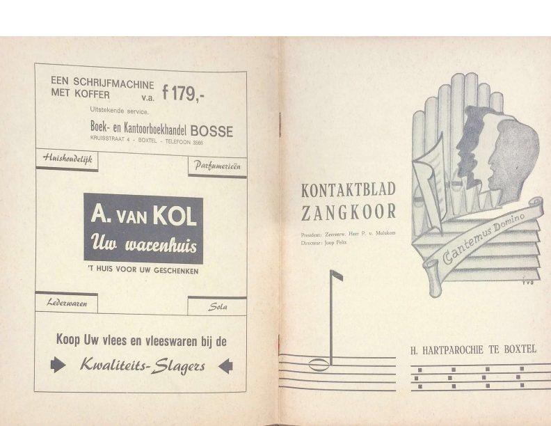 1968 kontaktbkad zangkoor jg 6-3