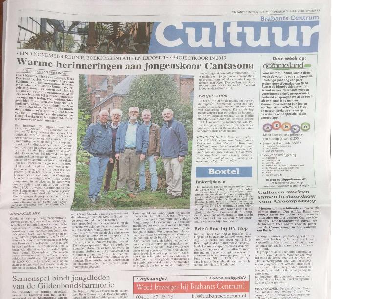 2018 Artikel Brabants Centrum 12 juli