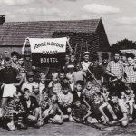Foto: 1957 en 1958 kamp in Esbeek