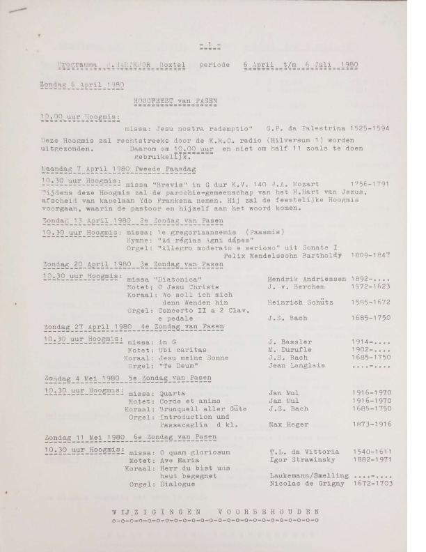 1980 programma april-juli