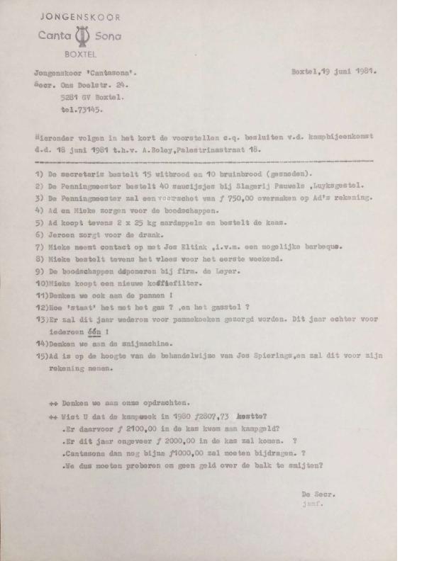 1981 notulen 18-6-1981