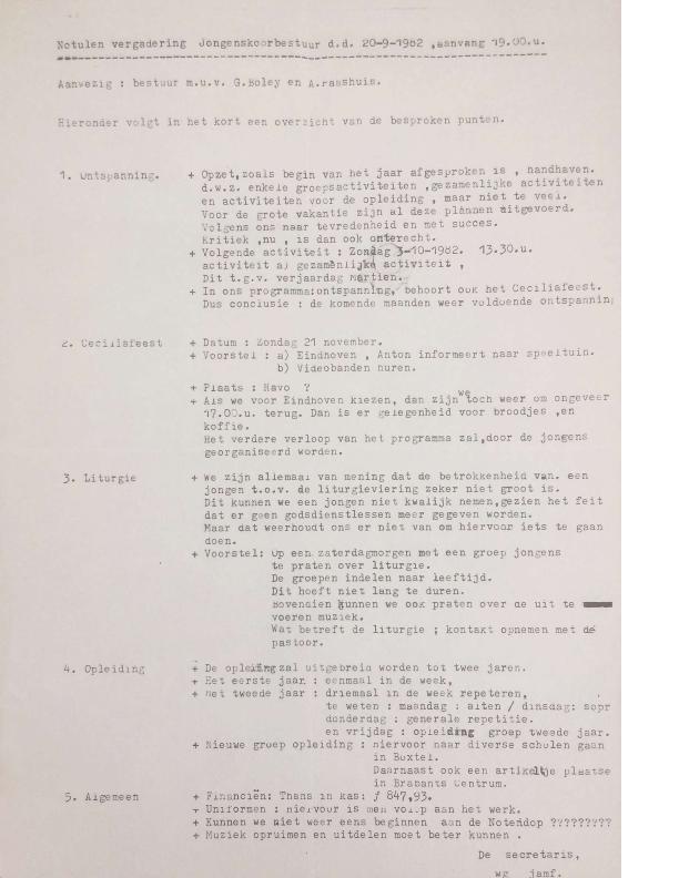 1982 notulen 20-9-1982