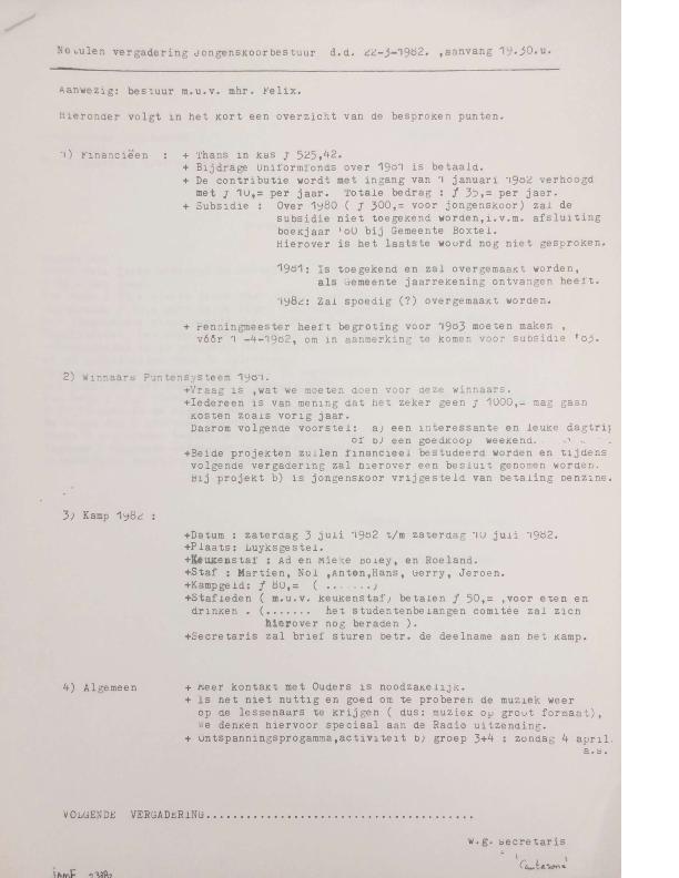 1982 notulen 22-3-1982
