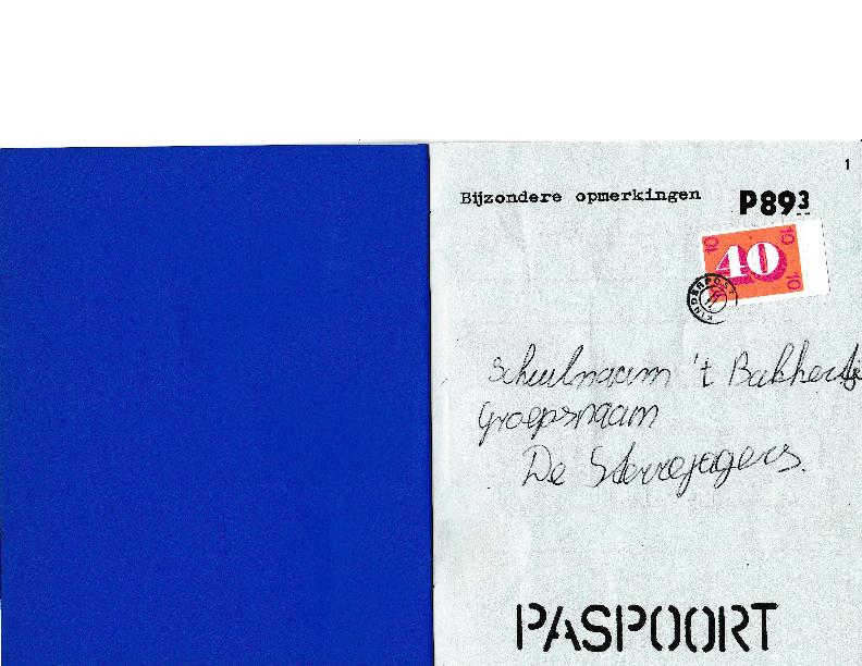 1983 Kamp Paspoort Harry van de Broek