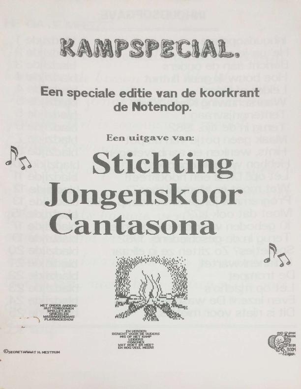 1988 De Notendop Kampspecial