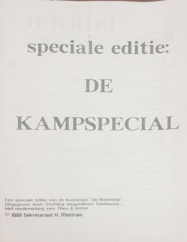 1989 de Kampspecial