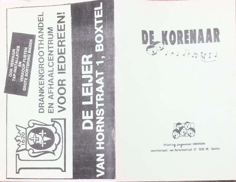 1990 De Korenaar, jg.1, nr3 1990