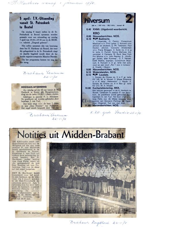 1970 krantenknipsels