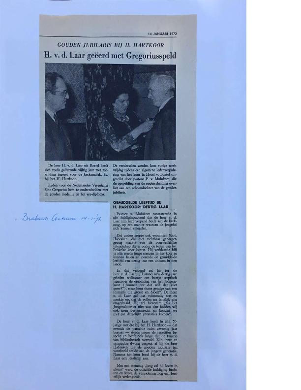 1972 krantenknipsels