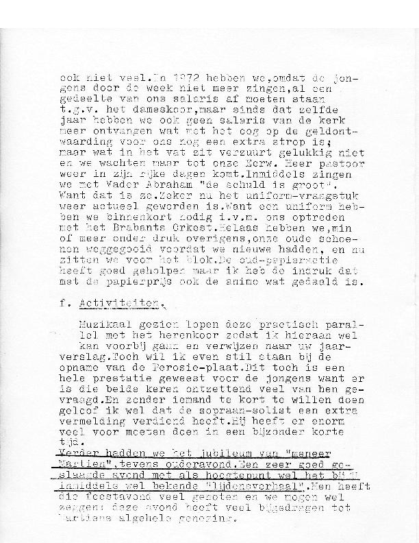 1975 Afscheid enkele jongens – Piet Bloem voor de Vriedenkring