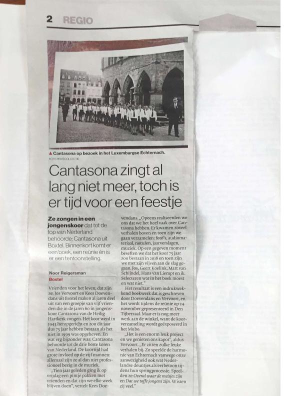 2018 artikel Brabants Dagblad