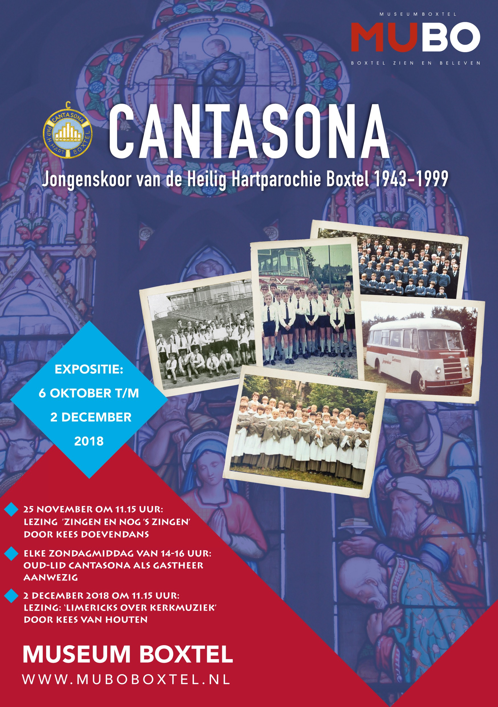 2018 Folder expositie Cantasona