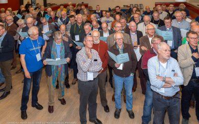 Foto: tranen door 120 mannenstemmen