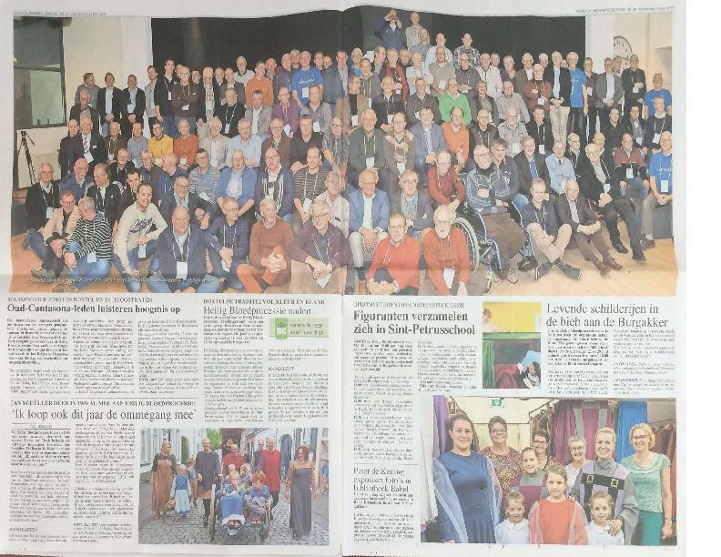 2019 artikel mannenkoor Cantasona met foto Brabants Centrum