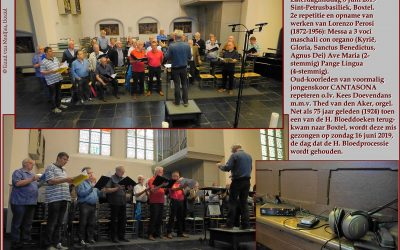 Audio: 08-06-2019 repetitie Zangers van Cantasona