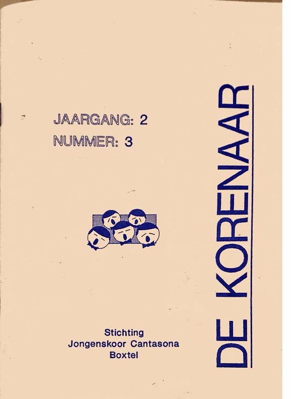 1991 De Korenaar jaargang 2 nummer 3