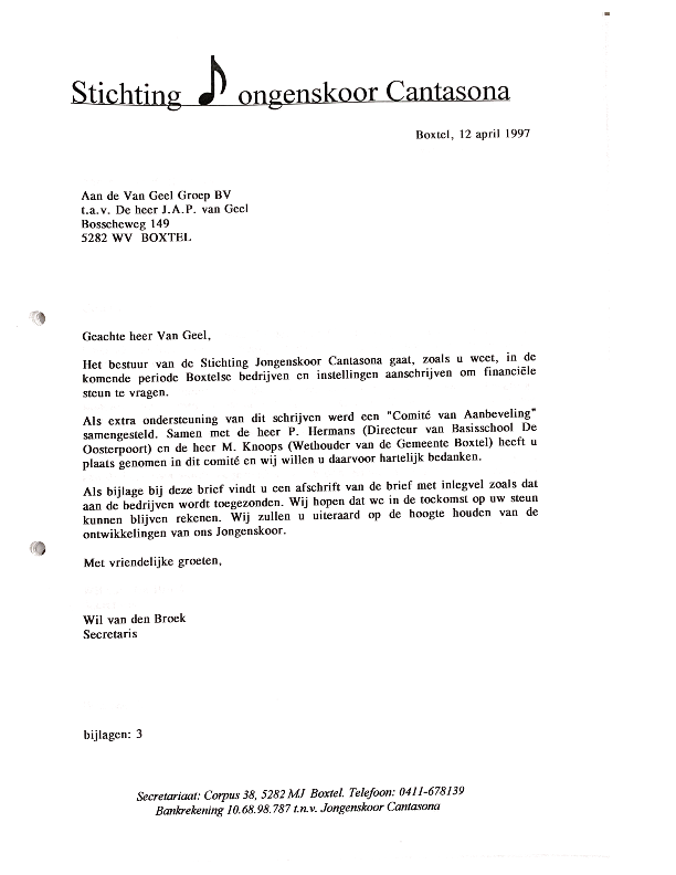 1997 april commissie van aanbeveling 2